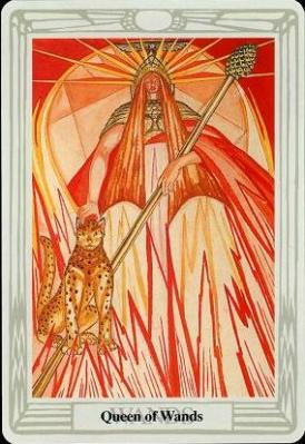 Queen of Wands, Thoth