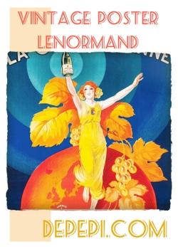 Vintage Poster Lenormand