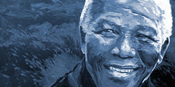 Nelson Mandela, artist rendition. Source: http://guardianlv.com